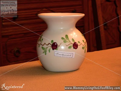 Emerson Creek Pottery Cranberry Tart Burner