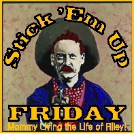 Stick &#39;Em Up Friday Giveaway Linky at Mommy Living the Life of Riley