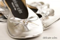 Delicate Soles Rollable Flats Shoes