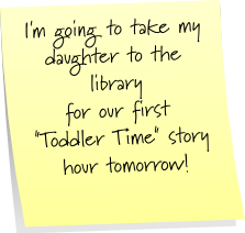Toddler Time Library