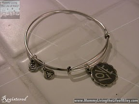 Alex and Ani Crazy Love Bracelet