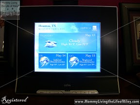 Weather Channel on the CEIVA Pro 80