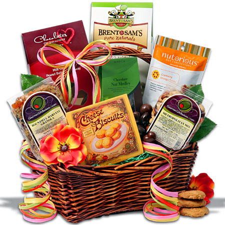 Mother's Day Sweets Treats Basket Gourmet Gift Basket
