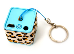 chicBuds chicboom Keychain Speaker