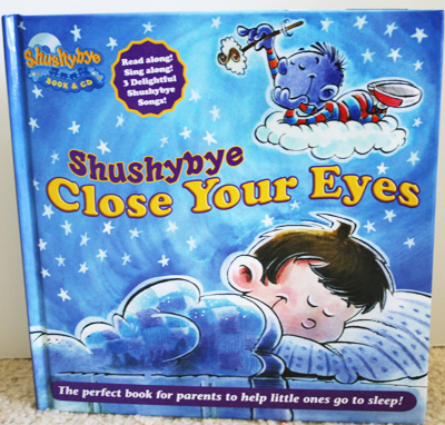 "Shushybye ""Close Your Eyes"" Book"