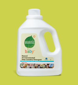 Seventh Generation Natural 2X Baby Liquid Detergent