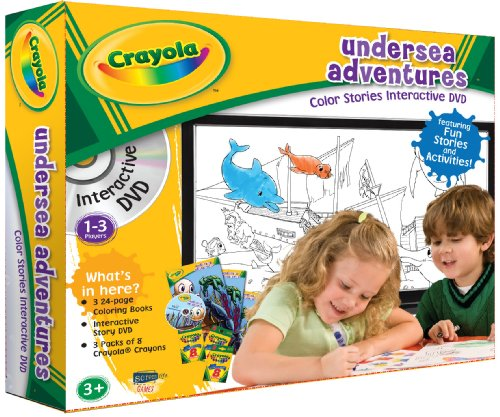 Crayola and DVDiscoveries Games