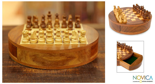 NOVICA Handmade Chess Set