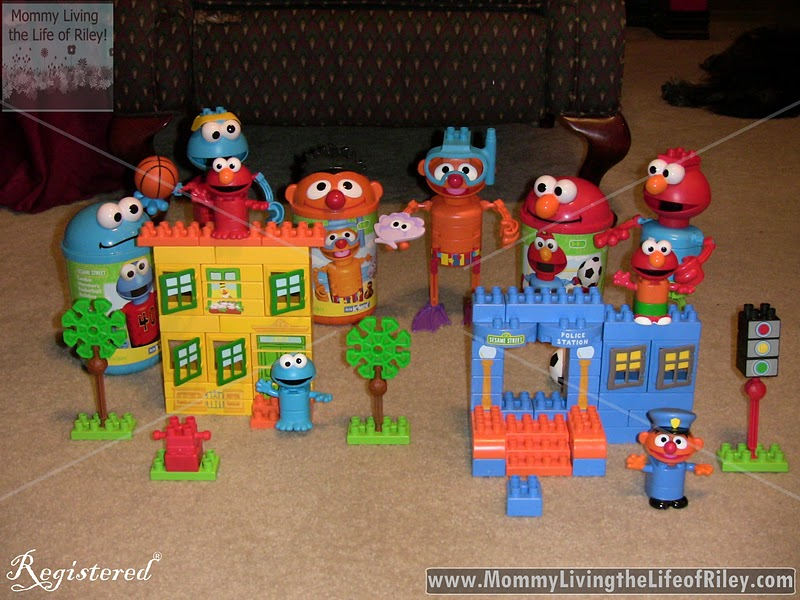 Sesame Street Toys For Toddlers : Review k nex sesame street neighborhood collection