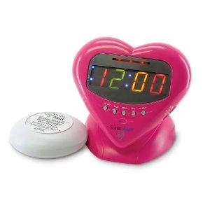 Sweetheart Alarm Clock from Sonic Alert