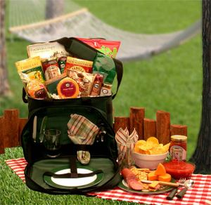 Picnic for 2 Hamper Gift Basket