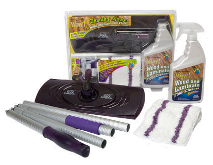Black Diamond WOW Wood Floors Cleaning System & Brilliant Lenses Eyeglass Cleaner