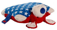 My Pillow Pets Patriotic Pup