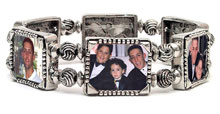 Memory Maker Stretch Photo Bracelet of YOUR CHOICE