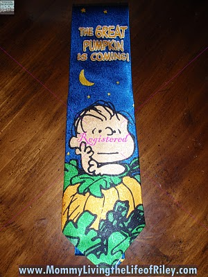 ABC Neckties Great Pumpkin Tie