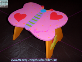 Tatutina Hand-Painted Children's Step Stool