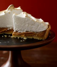 Mile-High Pumpkin Meringue Tart