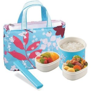 Mini Bento Stainless Lunch Jar Set from Zojirushi
