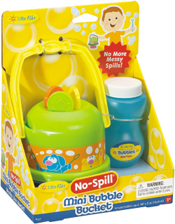 No Spill Mini Bubble Bucket