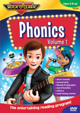 Rock N Learn Phonics Volume 1 & 2 DVDs