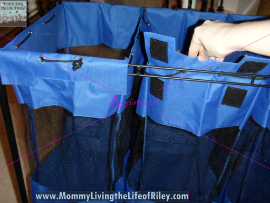 Organize-It Triple Bin Storage Organizer