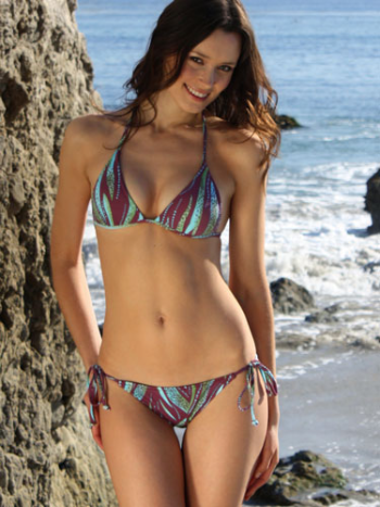 Envy Push Up Seascape String Bikini