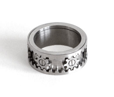 Kinekt Design Gear Ring