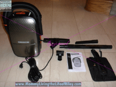Oreck Edge Vacuum Cleaner with Both Upright and Handheld Vacuums