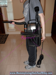 Oreck Edge Vacuum Cleaner with Both Upright and Handheld Vacuum