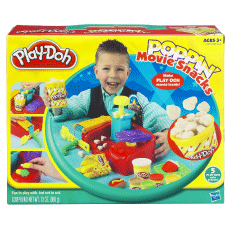 Play-Doh Fun Food Movie Poppin' Snacks