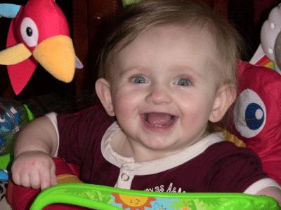 Riley Smiling