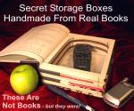Secret Storage Book Box from the Book Box Company