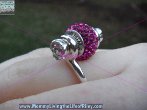 WHIMSY Sophia Ring with Glimmer Bead in Stiletto