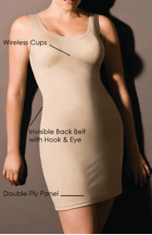 Annette Adjustable Shapewear Shaper Slip Diva Defined D-105
