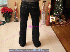 the ellie jean curvy bootcut