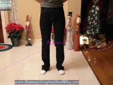 the ellie jean straight leg/high rise
