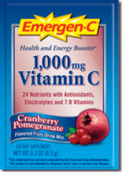 Emergen-C Cranberry Pomegranate Drink Mix