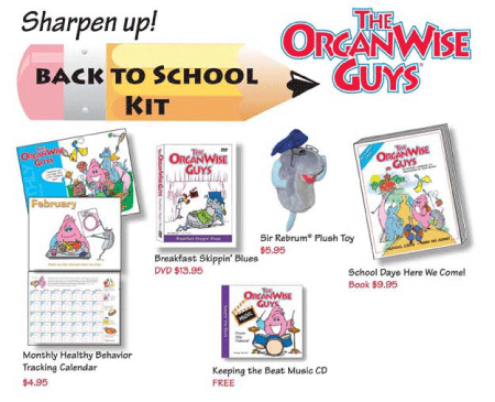 Back to School Kit from The OrganWise Guys