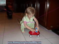 Pocoyo Bump 'N Go Racing Car