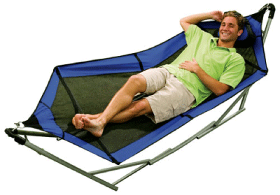 ThinkGeek Portable Mesh Hammock
