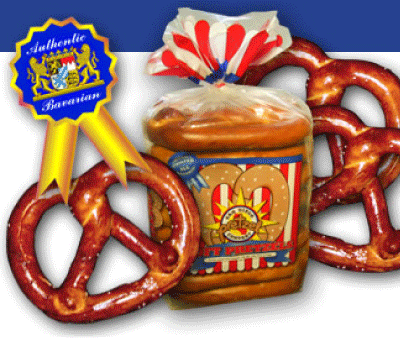 San Diego Pretzel Company Twisted Traditional Bavarian Pretzels