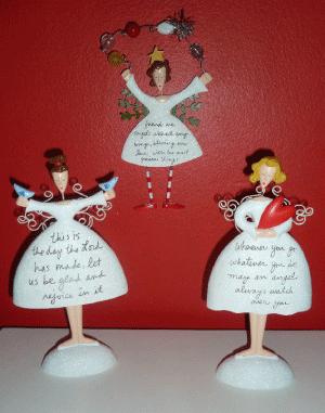 Sandra Magsamen Holiday Plaques