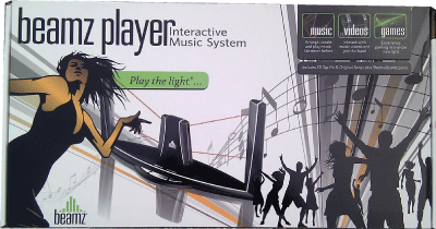 Beamz Player C4 Model from Beamz Interactive Inc.