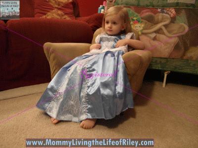 The Princess Dress Cinderella with Glovelets Dress
