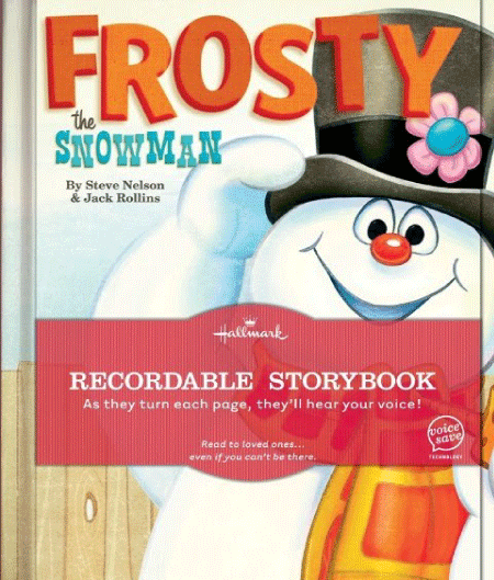 The Frosty the Snowman book from Hallmark was constructed of very thick