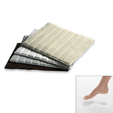 Microdry Ultimate Luxury Memory Foam Bath Mat From Minds