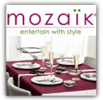 Mozaik Disposable Dinnerware