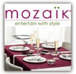 Mozaik Disposable Dinnerware