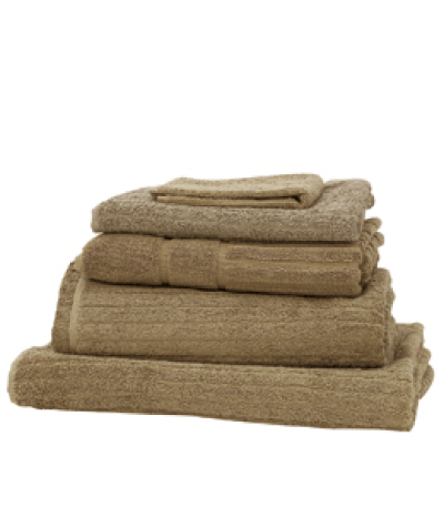 Nicole Jane Home Agean Bath Towels in Pebble
