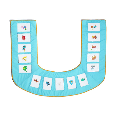 Play This Way Every Day U-Play Mat Deluxe Set